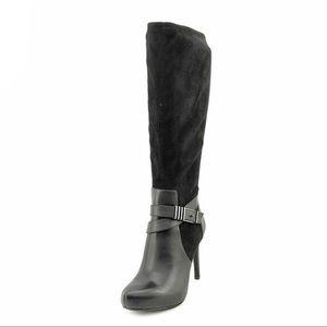 Bar III Carlina Knee High Heeled Boots Size 9